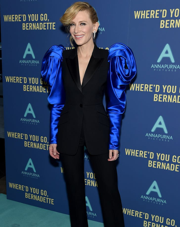 Rule of Three: Cate Blanchett, Chrissy Teigen & Alison Brie Make a Case for '80s Sleeves