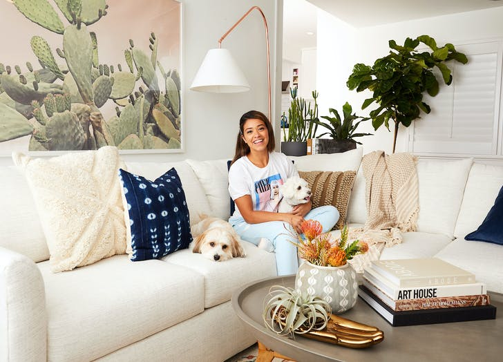 'Jane the Virgin' Star Gina Rodriguez Just Redid Her Living Room & It Looks *So* Good