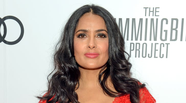 Meghan Markle and Salma Hayek Had a Top Secret Phone Call to Discuss the British 'Vogue' Cover
