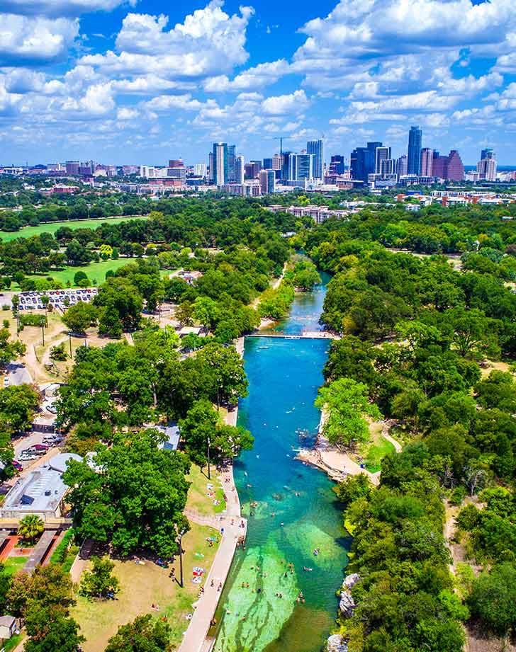 best things to do austin barton springs