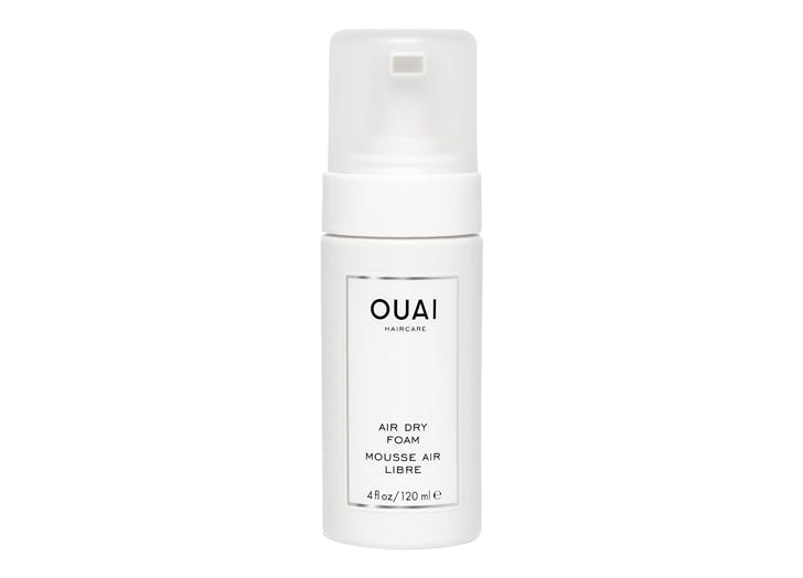 best wavy hair products ouai air dry foam
