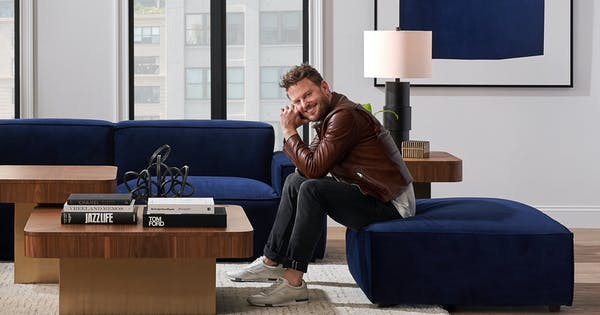 Bobby Berk Is Dropping a Brand-New Fall Furniture Collection & We Have a Sneak Peek