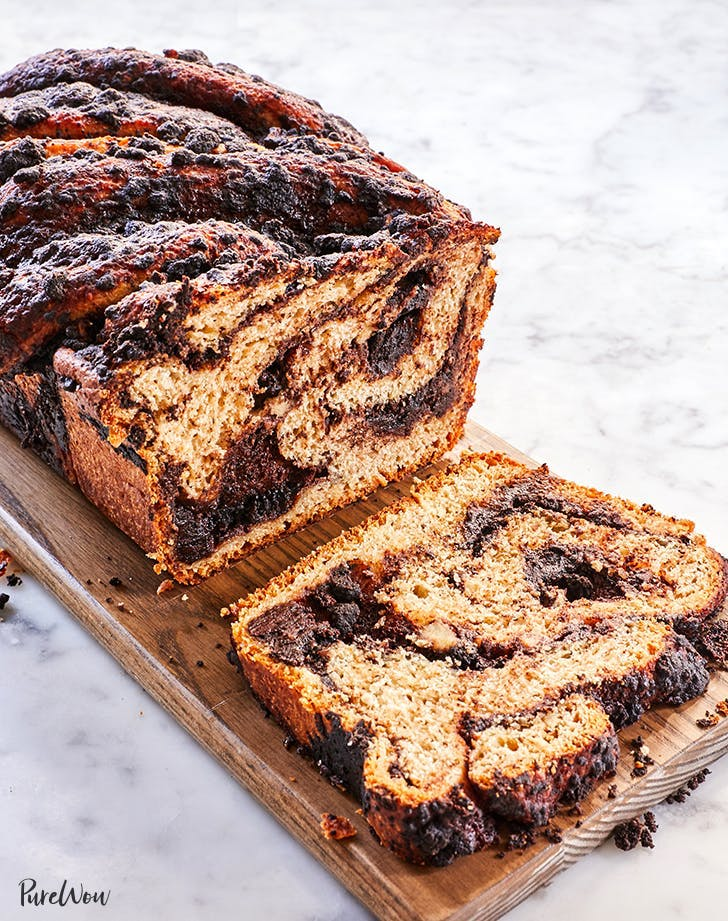 breakfast for a crowd chocolate banana bread babka recipe