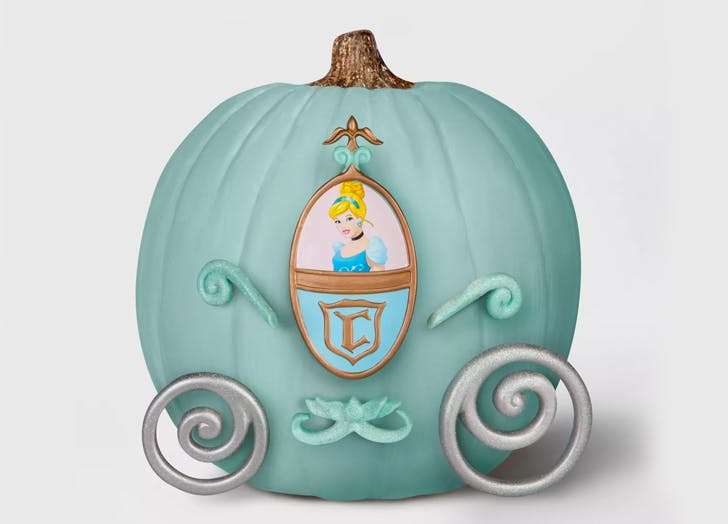 Target Just Introduced No-Carve Disney Pumpkins and Now We Don't Have to Touch Pumpkin Goo