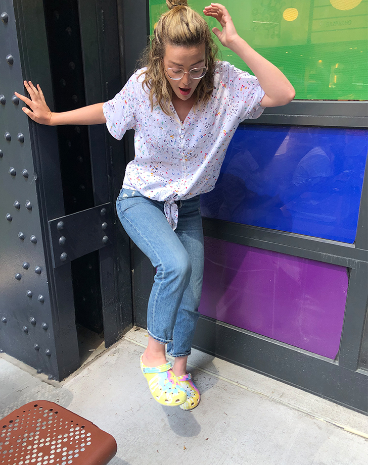 I Wore Crocs for a Week - PureWow