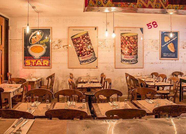 fiaschetteria pistoia restaurant interior