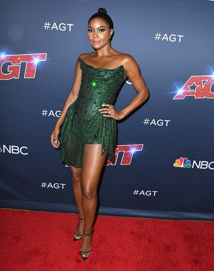 Gabrielle Union Just Wore the Coolest Optical Illusion Heels
