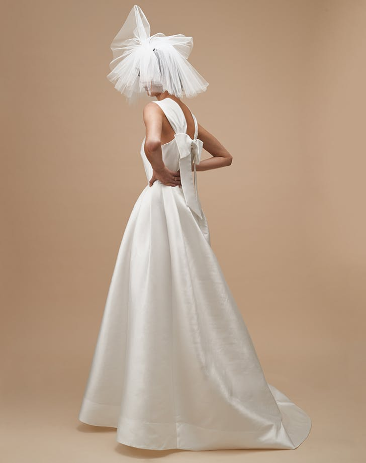 karen walker true love wedding dress