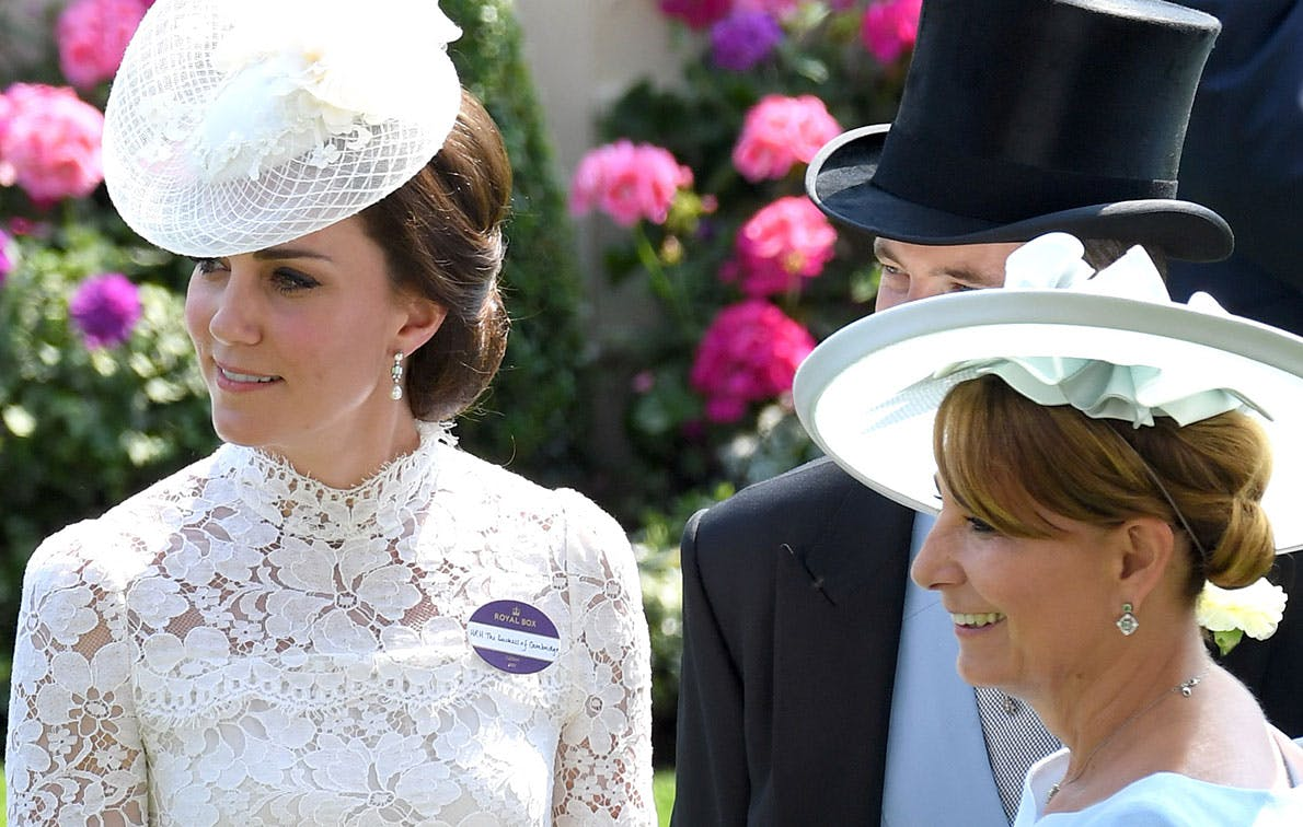 kate middleton carole middleton