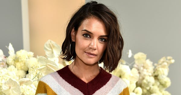 Katie Holmes Just Stepped Out in the Most Controversial Shoe Trend of the Summer