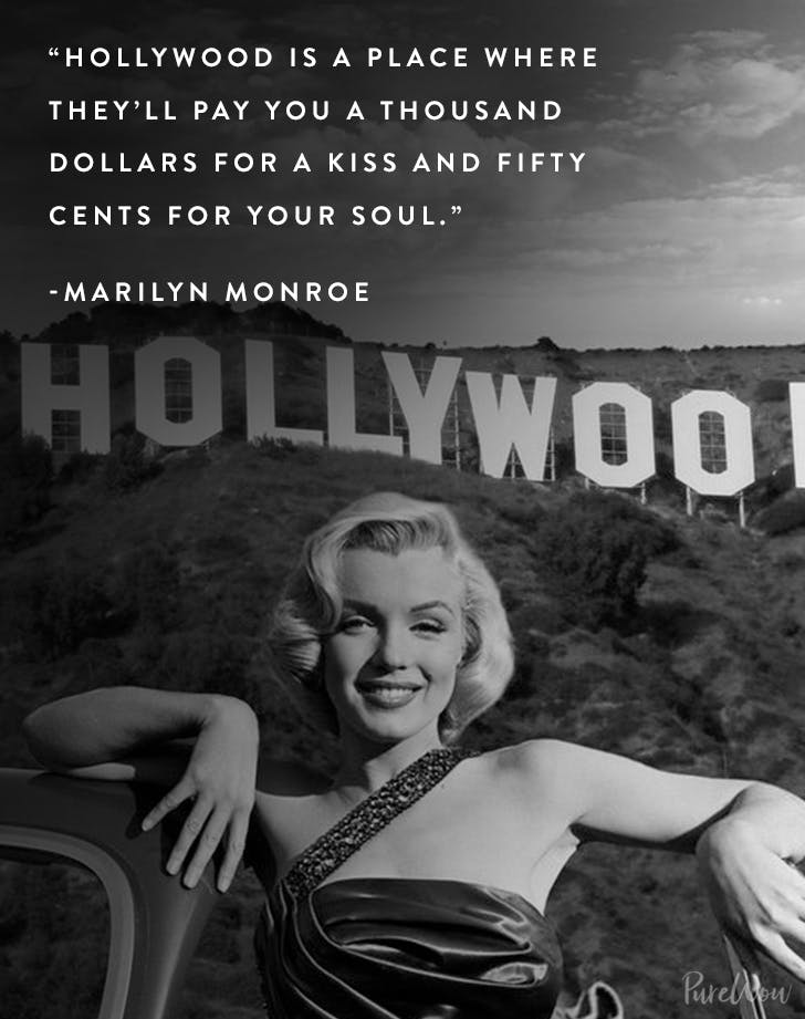 30 Marilyn Monroe Quotes On Love Life And Fame Purewow