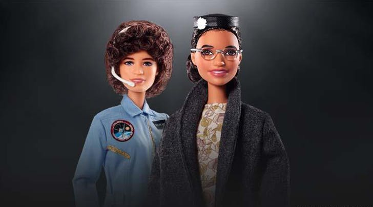 Rosa Parks & Sally Ride Are Now Barbies—and These Are Some Inspiring Dolls