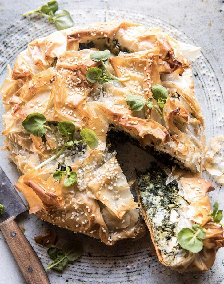 old school greek recipes Spanakopita