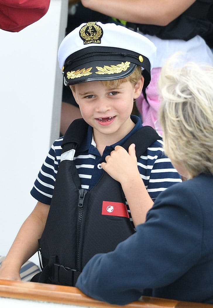prince george captain hat