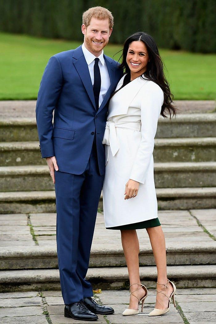 royal coats meghan markle engagement white coat