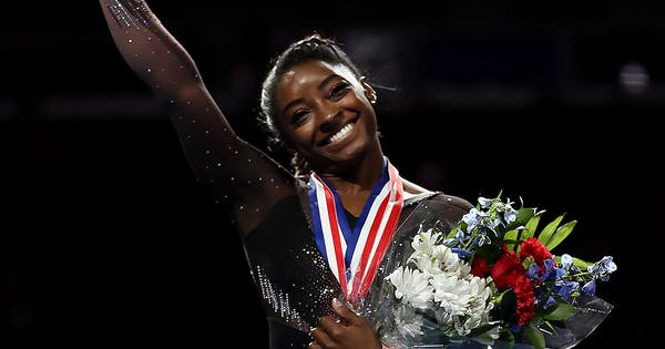 Simone Biles Just Broke a Gravity Defying Record: Watch the Clip Here