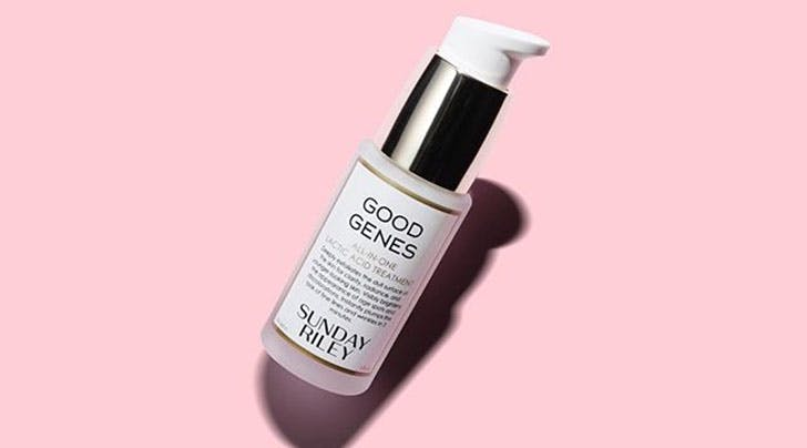 FYI, Sunday Riley's Famous Good Genes Lactic Acid Treatment Is Under $100 at Dermstore Right Night