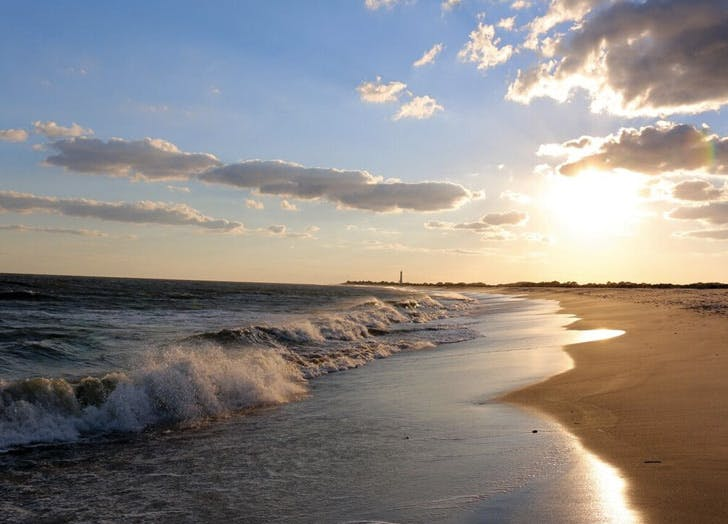 things to do in cape may sunset beach