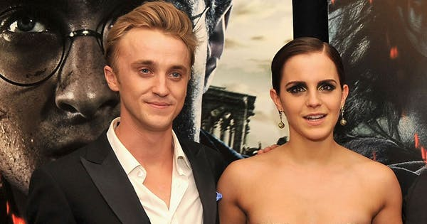 Emma Watson And Tom Felton Had A Harry Potter Reunion And Is It Love Purewow