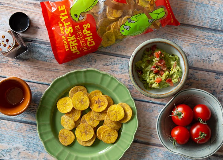 trader joe s jerk style plantain chips employee favorite