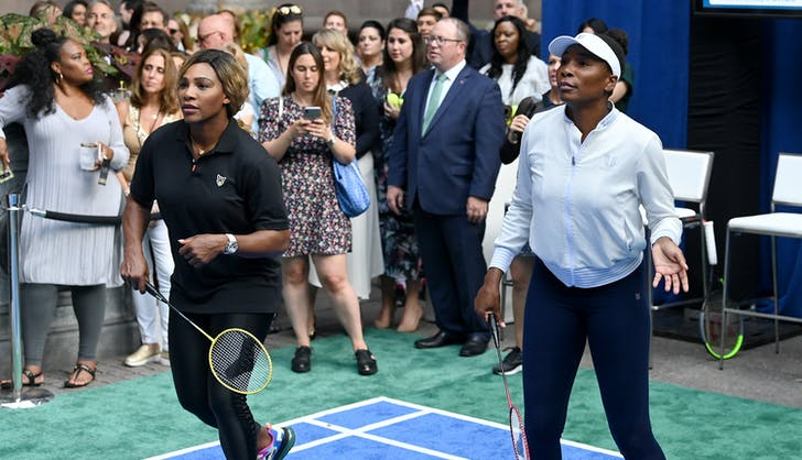 Serena Williams Played a Match at the Palace Yesterday (but Not the One You Think)