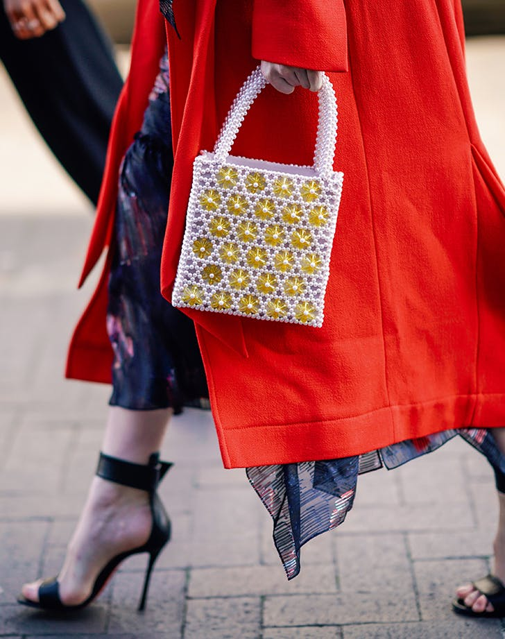 Bead Bags, Tie-Dye, Bows: Here's How to Update Your Favorite Summer Trends for Fall 2019