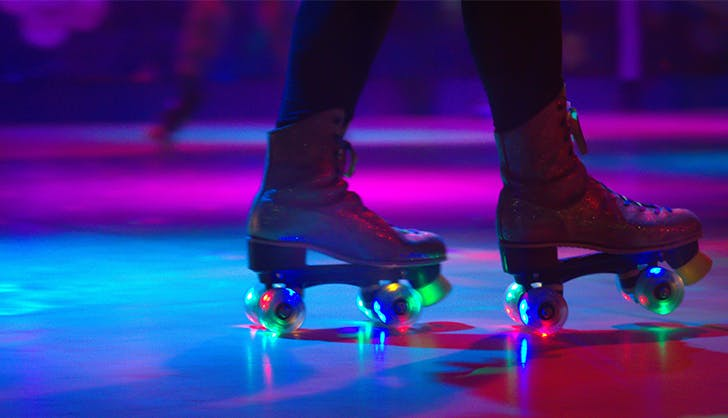 40th birthday party ideas roller rink