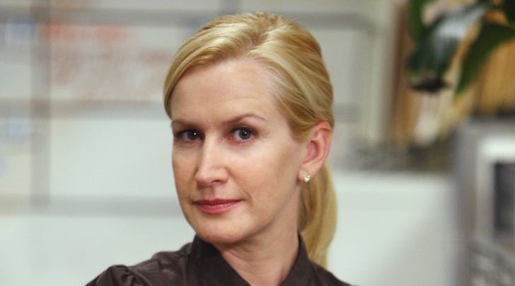 Angela Kinsey Named A Cat On The Office Purewow
