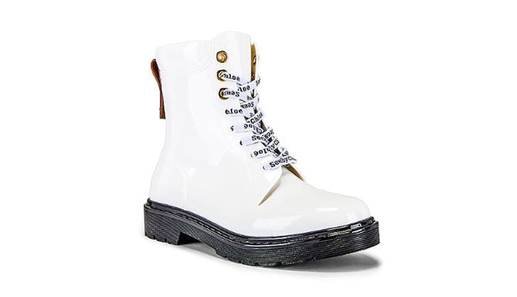 Chloe combat boots