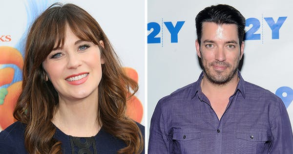 Zooey Deschanel & 'Property Brothers' Star Jonathan Scott Are Dating—Here's Everything We Know