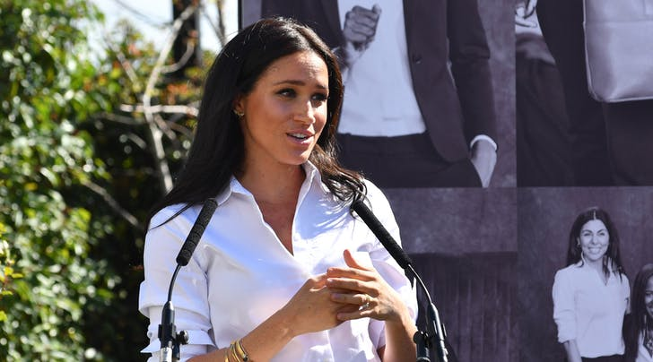 Meghan Markle Proved She's a Public Speaking Natural at Her First Post-Maternity-Leave Event