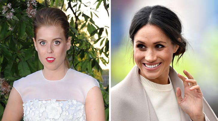 Princess Beatrice S Engagement Ring Has Ties To Meghan Markle