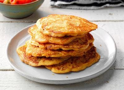 Salsa Corn Cakes