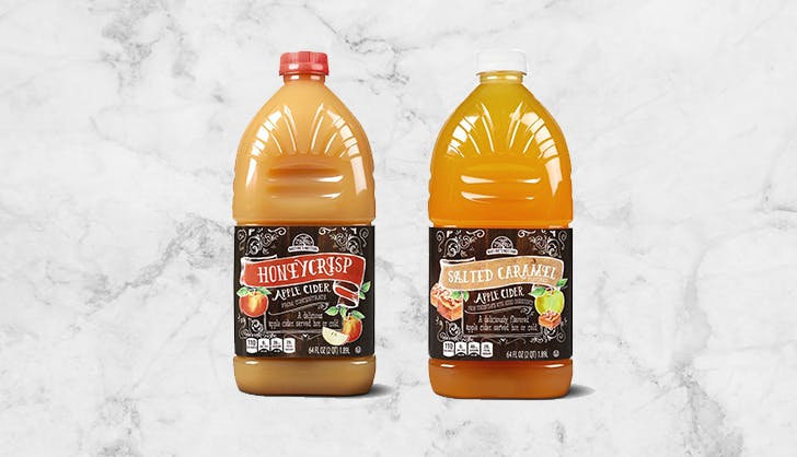 aldi honeycrisp and salted caramel apple cider
