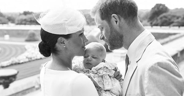 Meghan Markle Just Revealed a Never-Before-Seen Photo of Prince Harry and Baby Archie