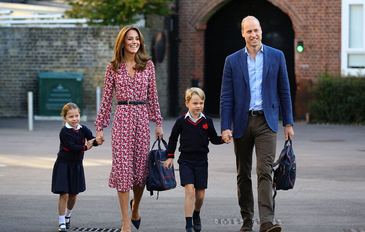 cambridge family first day of school