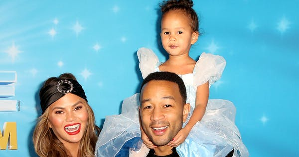 Chrissy Teigen and John Legend's Daughter Luna, 3, Already Has a Crush that 'Listens to My Feelings'