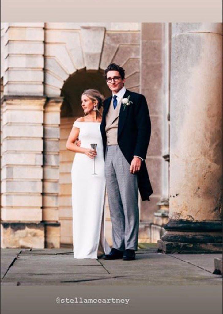 ellie goulding wedding reception dress