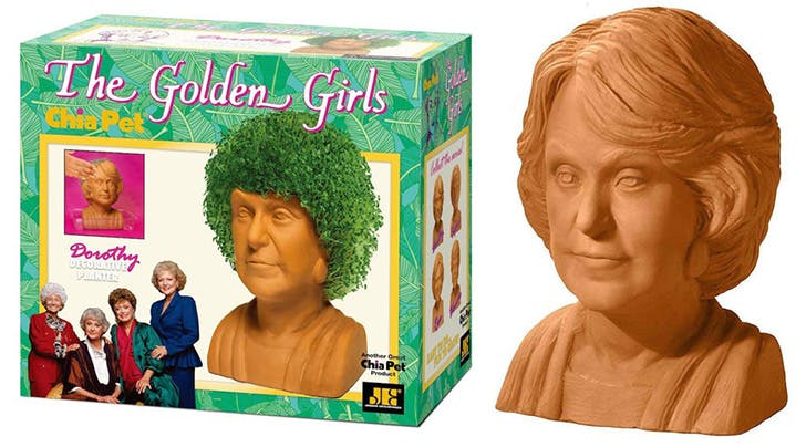 You Can Now Buy Golden Girls Chia Pets for Your—Ahem—Quirkiest Friends