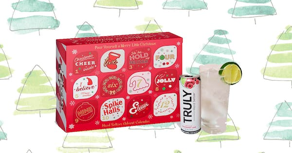 Ho, Ho, Hold Up: A Hard Seltzer Advent Calendar Exists, and Yes, There Are White Claws