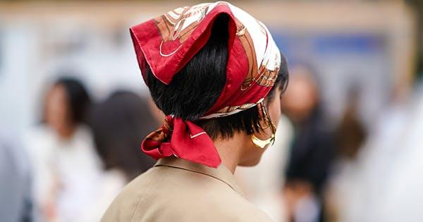The Office Headwrap Bow Headwrap Bullet fabric