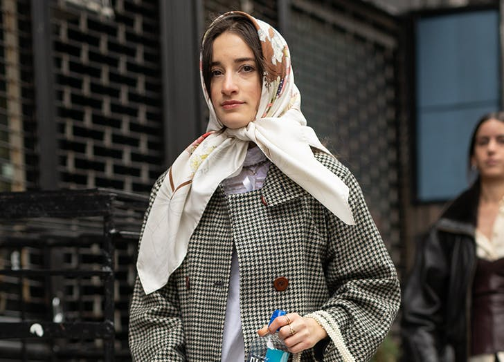 10 Head Scarf Styles For Bad Hair Days And Beyond Purewow