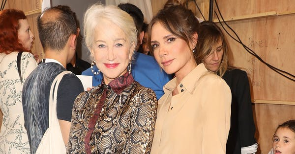 Helen Mirren Just Showed Off an Easy (& Comfy) Styling Trick at London Fashion Week