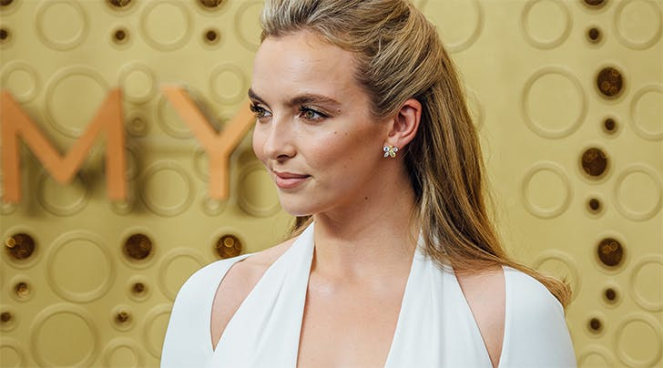 Jodie Comer's Hairstylist Just Revealed the 'Lazy' Tip for Red-Carpet-Worthy Hair