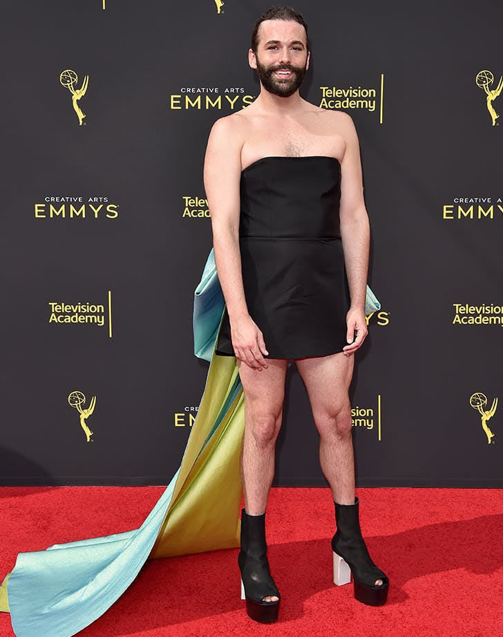 Jonathan Van Ness's Mini LBD Was a Major Win at the Creative Arts Emmys