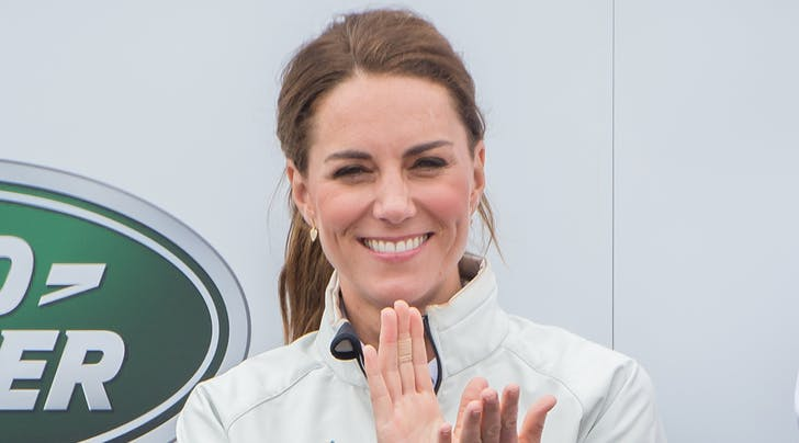Kate Middleton Unveils New Children's Playground