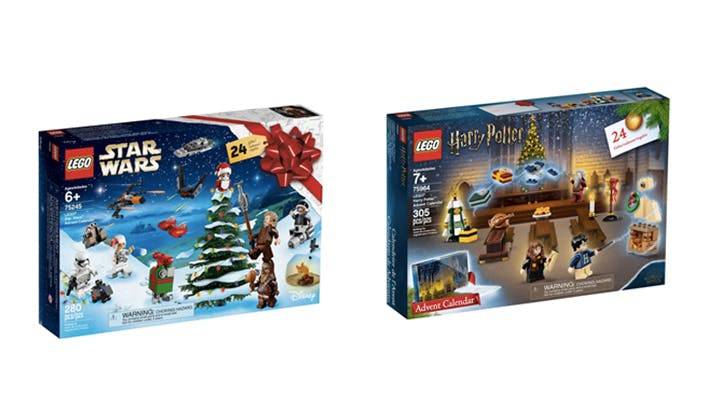 Lego Is Selling 'Harry Potter' and 'Star Wars' Advent Calendars to Ring in the Holidays