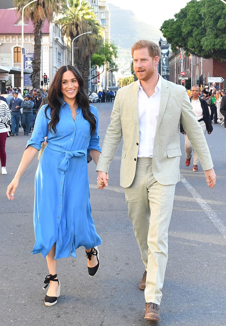 meghan markle prince harry veronica beard dress