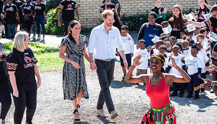 meghan markle prince harry africa royal tour
