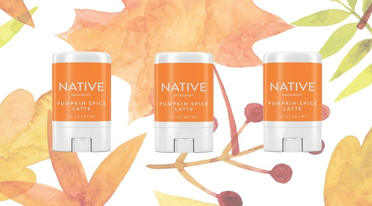 Pumpkin Spice Latte Deodorant Exists, & This Company Sells 500 Sticks Per Day